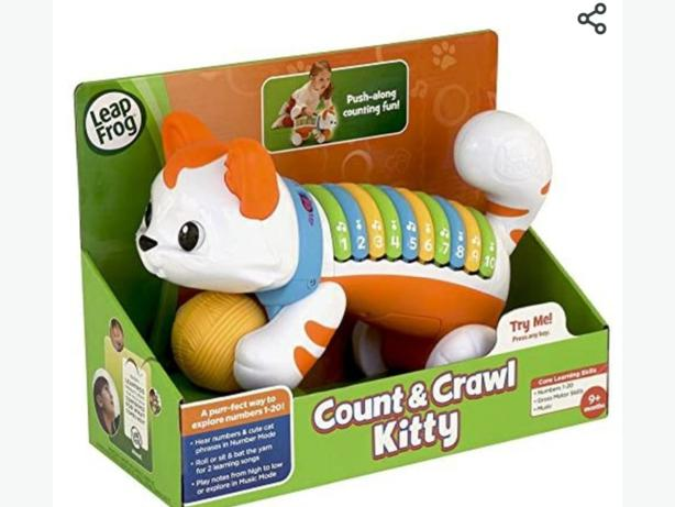 Leap frog....count and crawl kitty ..only $15