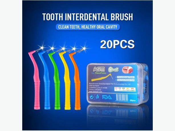 20x Interdental Between Teeth Brushes