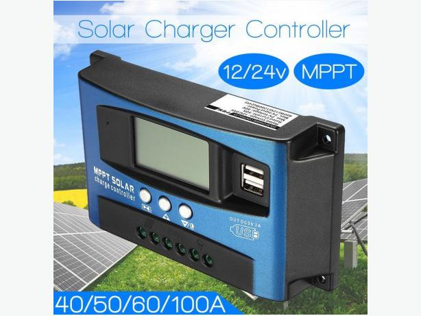 Solar Controllers 10, 30 and 60amp