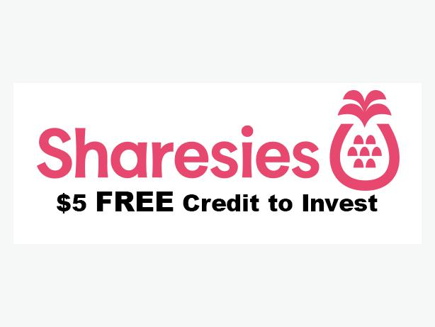 FREE: $5 Sharesies Credit to Invest