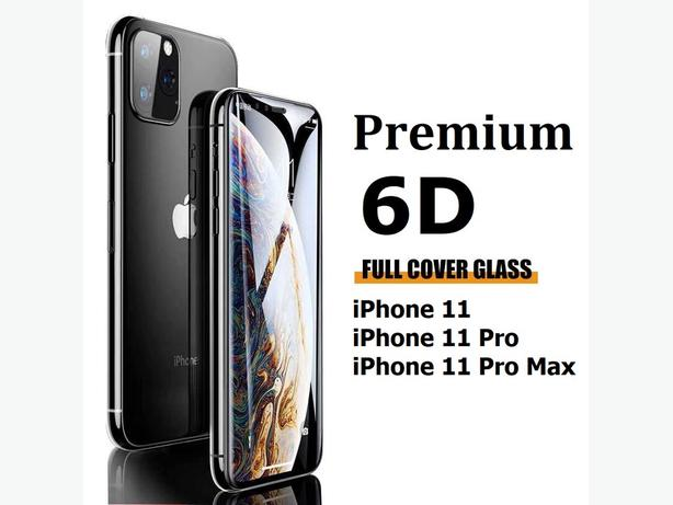 9H 6D Full Coverage Clear Glass Screen Protector for iPhone 11 Series
