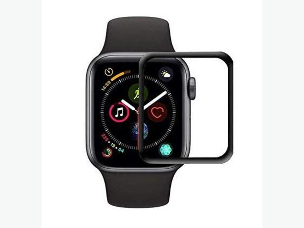 Apple Watch Full Cover Tempered Glass Screen Protector in Retail Box