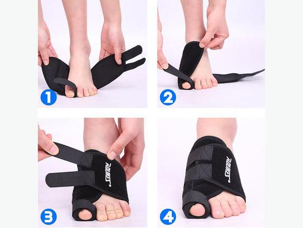 Aolikes Orthopedic Toe Corrector for Treatment of Bunion on Your Left Foot - NEW