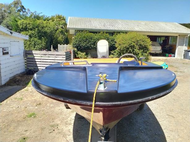 Hamilton Jet 52 hull with 135 EvinRude Fitch Fuel Injected Outboard