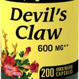 Devils Claw Supplement 600mg 200 Quick Release Capsules