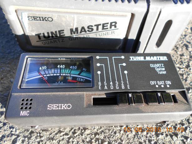 Seiko Tune Master ST 366 Quartz Guitar Tuner.