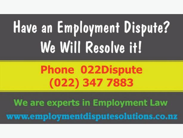 We Resolve Employment Disputes - 022Dispute (022 347 7883)