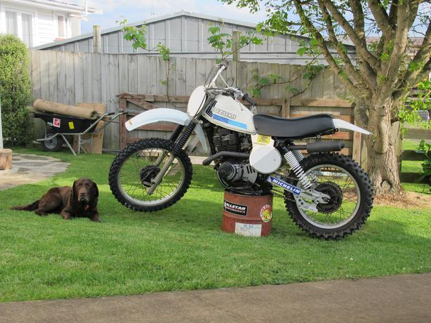 1980 DR400 T dirtbike