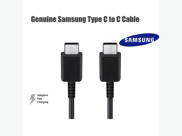 Genuine Samsung USB-C Type C to USB-C Type C Cable 1m Black in Retail Box