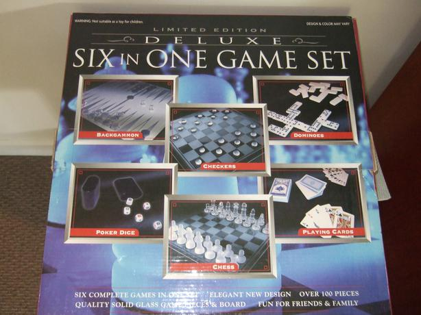 Limited  Edition Delux Six in One Game