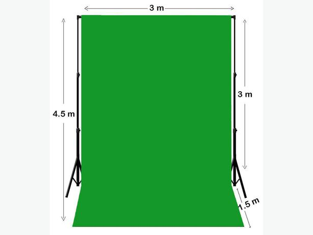 Green screen for photography