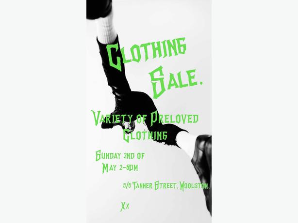 Clothing Garage Sale!