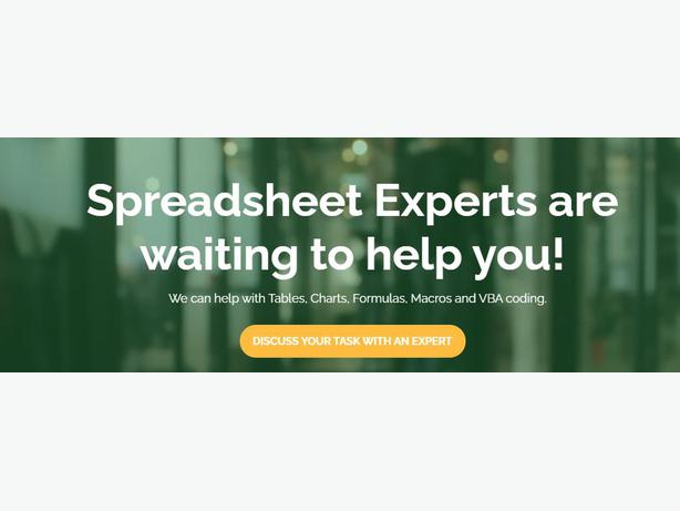 Discuss your Task to our Excel Experts In New Zealand