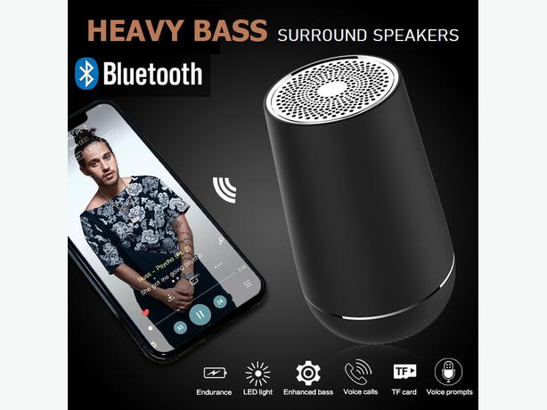 TWS 5W Heavy Bass Wireless Bluetooth Speaker IPX7 Waterproof for IOS and Android