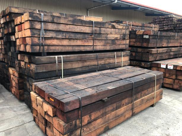 20 x 2.75m Australian hardwood sleepers
