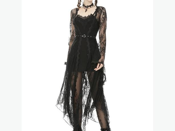 Lace Over Dress
