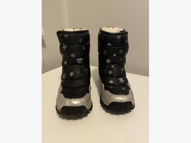 Waterproof girls snow boots
