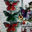 butterfly decor for garden or indoor.