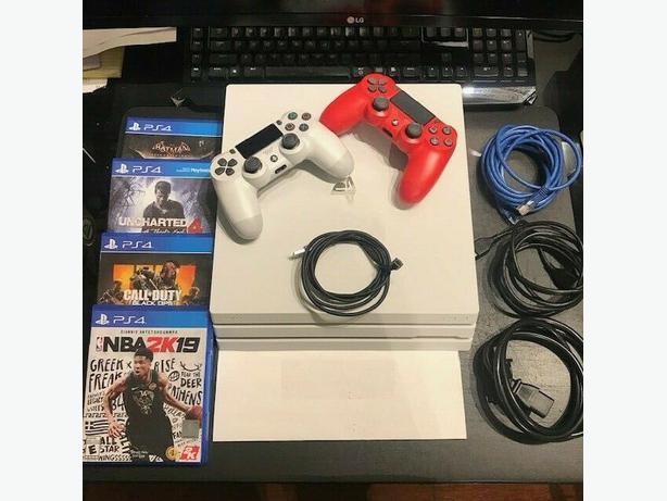 FREE: Playstation 4 slim white 500GB