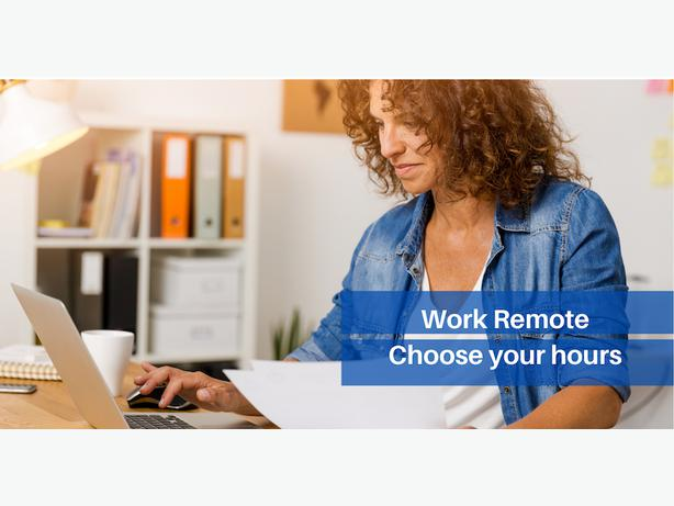 Sales and Marketing Manager  working remotely