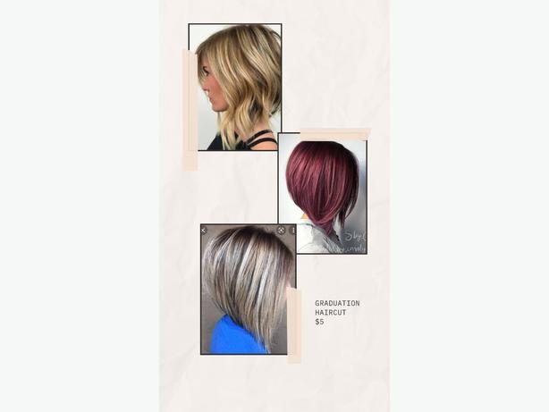 FREE: Hairdressing student