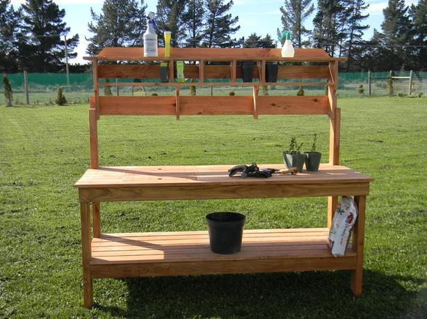 An Elite Potting Bench/Table