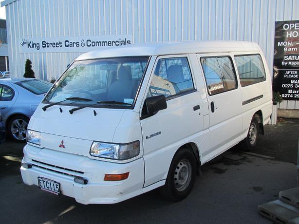 Mitsubishi L300 2.4 Petrol LWB Van 2008 Timaru, Www