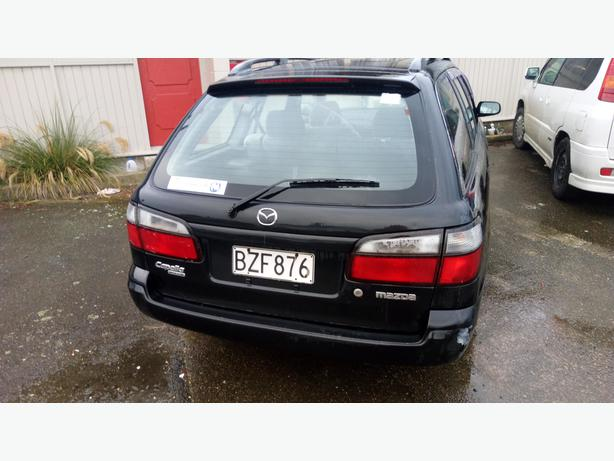1998 mazda capella station wagon (1.8 5sp man) available early-mid
