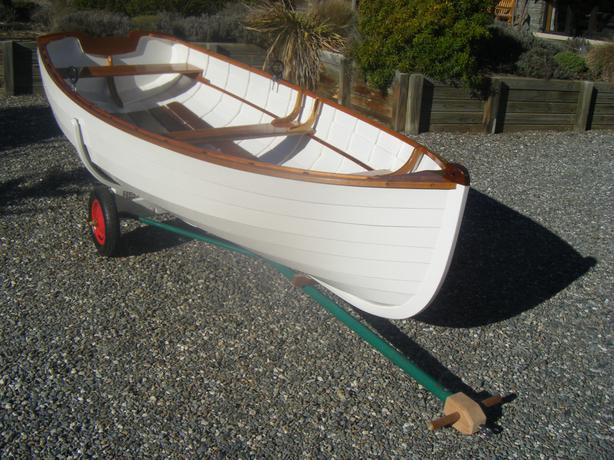 Build your own clinker dinghy.