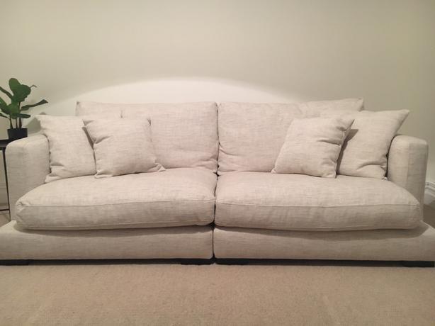 As New Freedom Furniture Hamilton 3 Seater Sofa