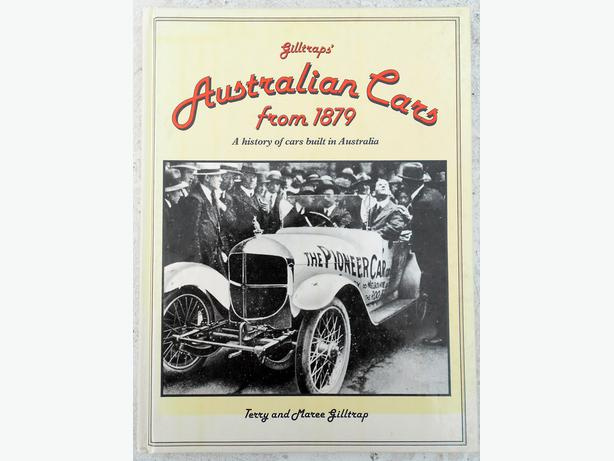 Giltraps' Australian cars from 1879; A History of Cars Built in Australia. Terry