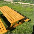 Stunning outdoor table/chair set(oiled)
