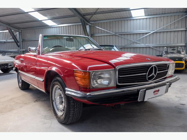 1972 Mercedes 350 SL - Want A Classic Car You Can Use Every day?