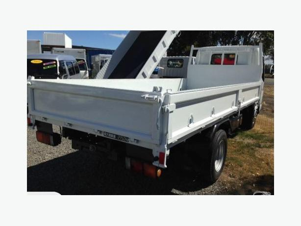 2008 Mitsubishi Fuso Canter 3 Ton Flat Deck Christchurch
