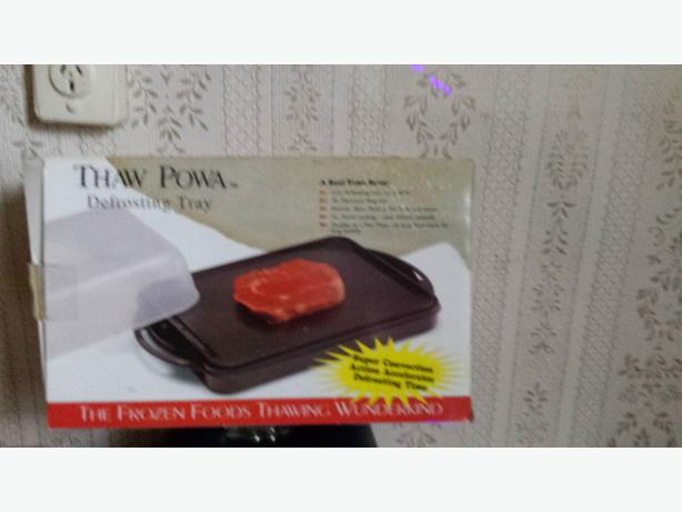 thaw defrost tray