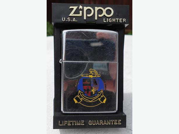 Zippo Operation Deep Freeze lighter 1992