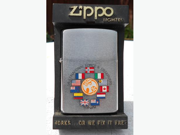 Zippo Sinai Multinational Force and Observers lighter