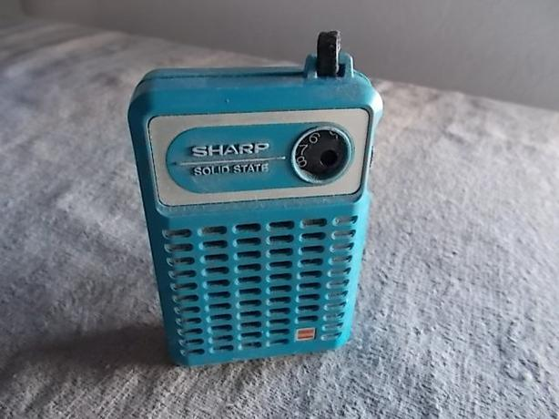 Sharp Solid State Radio