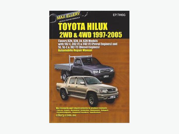 toyota hilux 1997 2005 repair manual oamaru www rh postanote co nz 2005 toyota echo repair manual 2005 toyota rav4 repair manual free download