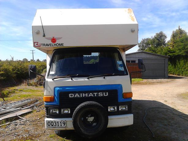 1989 Diahatsu Delta Campervan