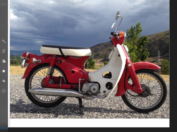 Honda C50 Classic Scooter