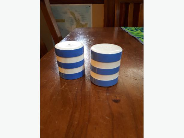Cornishware Salt and Pepper