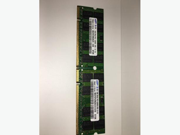 SAMSUNG X2 1GB RAM UPGRADE KIT (DDR2,PC25300S, 667MHz, 200Pin)