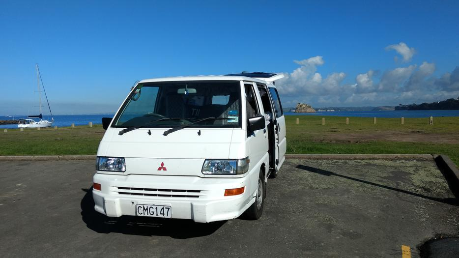 van mitsubishi l300 228 000km self-contained auckland, www