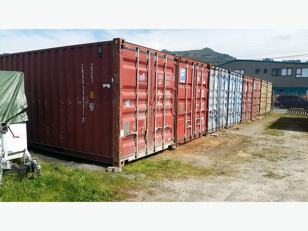 Secure 20ft Shipping Container Storage