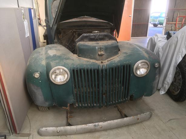 Barn Find Ford Jail Bar Pickup 1947