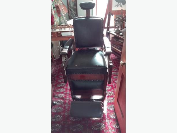 Vintage Koken Barbers Chair