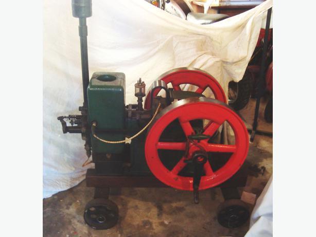 C1918 Bradford Stationary Gasoline Engine