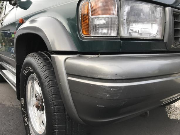 Isuzu Plaisir Bighorn Diesel