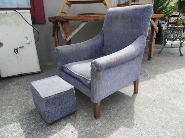 Matching Arm Chair & Stool